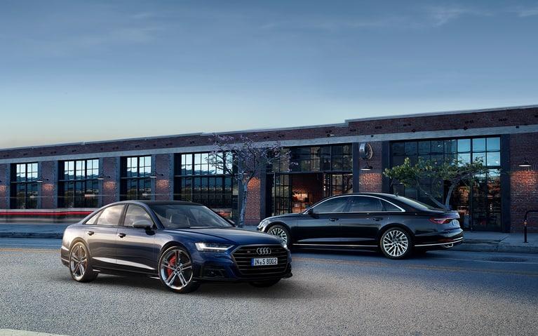 The new Audi S8 L